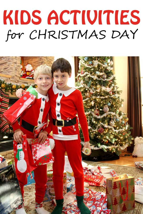Things for kids to do on Christmas day