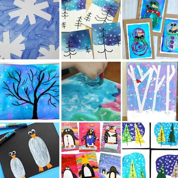 Winter art projects for kids 1