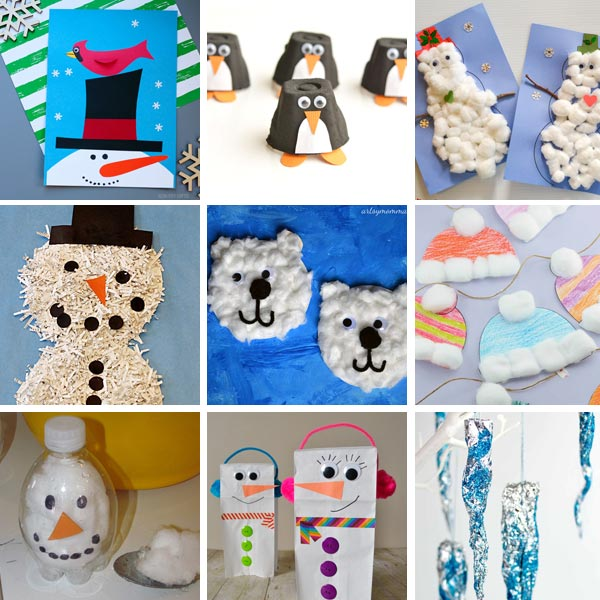 Winter crafts for kids 2
