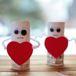 Heart Robot – Valentine Craft for Kids