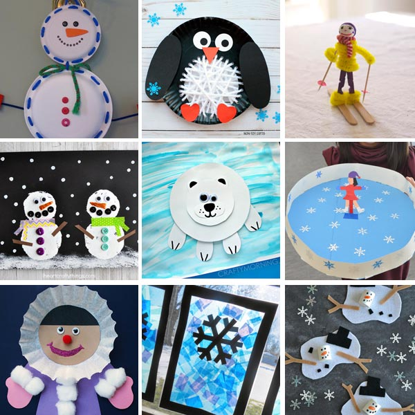 80 Winter Activities For Kids Art Projects Crafts Science