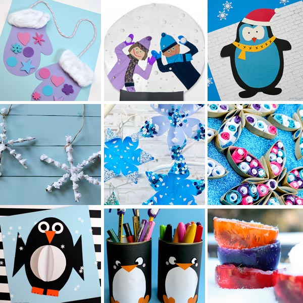 Winter crafts for kids 4