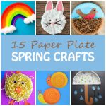 Paper plate spring crafts featured image