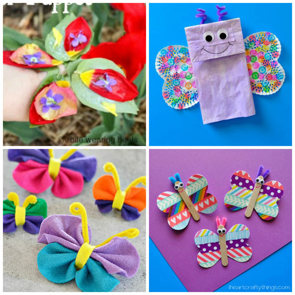 Butterfly Crafts For Kids To Welcome Spring Easy Classroom Toddlers Preschool