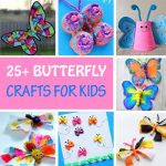 25+ Butterfly Crafts for Kids