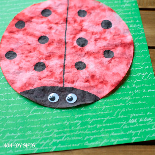Simple Spring Craft For Toddlers Preschoolers And Older Kids Insect