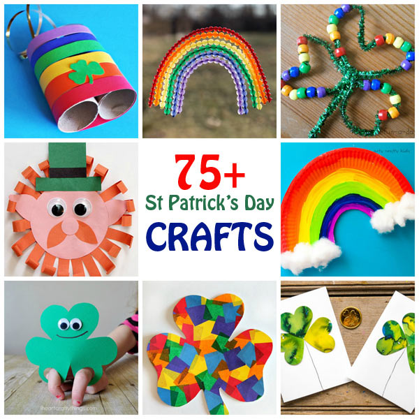 75+ St-Patricks Day crafts for kids