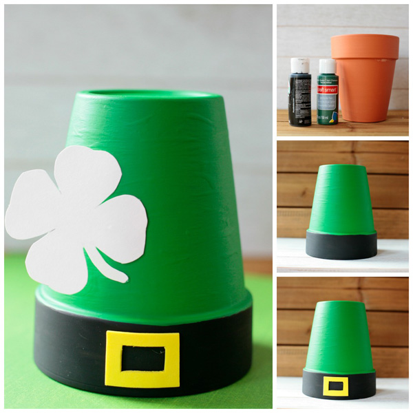 Leprechaun hat craft. St Patrick's Day craft for toddlers, preschoolers and older kids. | at Non-Toy Gifts