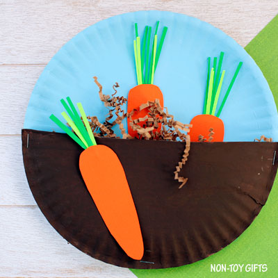 Carrots In The Garden Craft For Kids