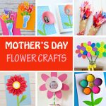 10 Mother's Day flower crafts for kids