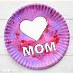 Paper plate Mother's Day craft for kids
