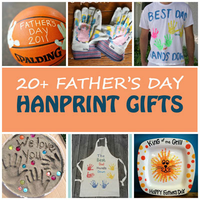 20+ Father's Day handprint gifts for dad