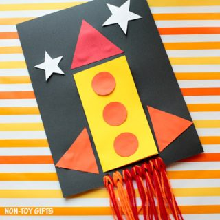 DIY Father's Day card for kids to make