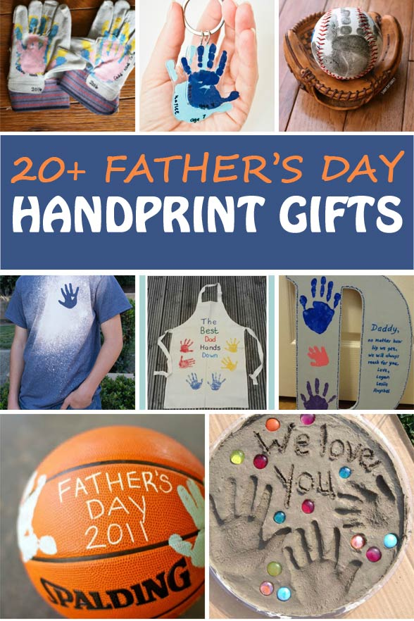 20 Father's Day handprint gifts