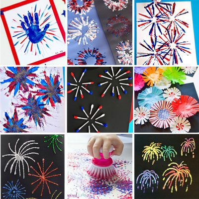 fireworks crafts for kids featured image