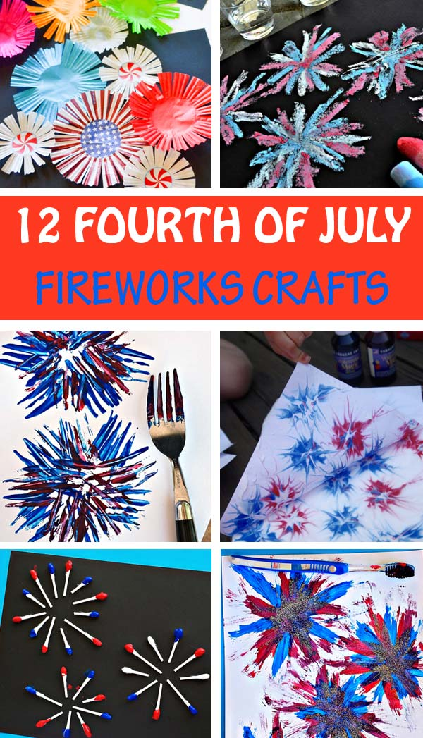Fireworks crafts kids