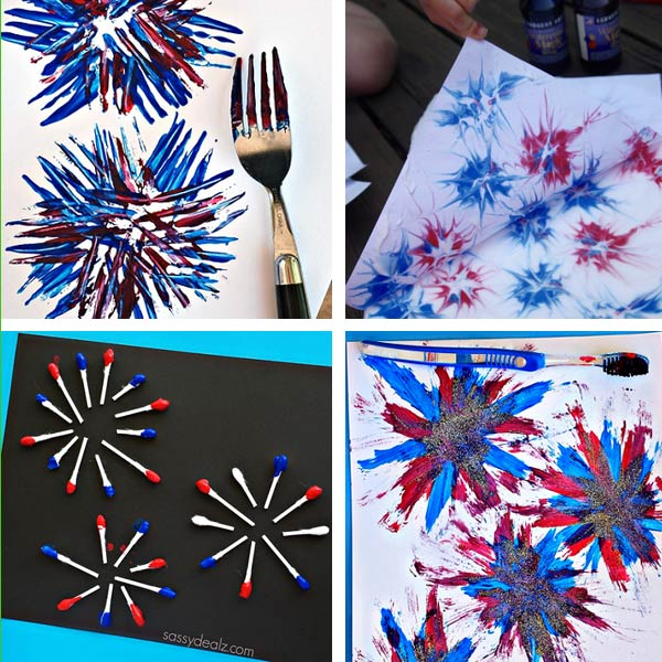 Fireworks crafts for kids 3