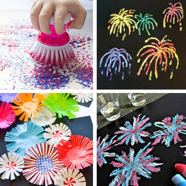 Fireworks crafts for kids 2