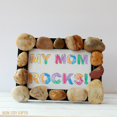 My mom rocks! – Mother's Day craft and keepsake