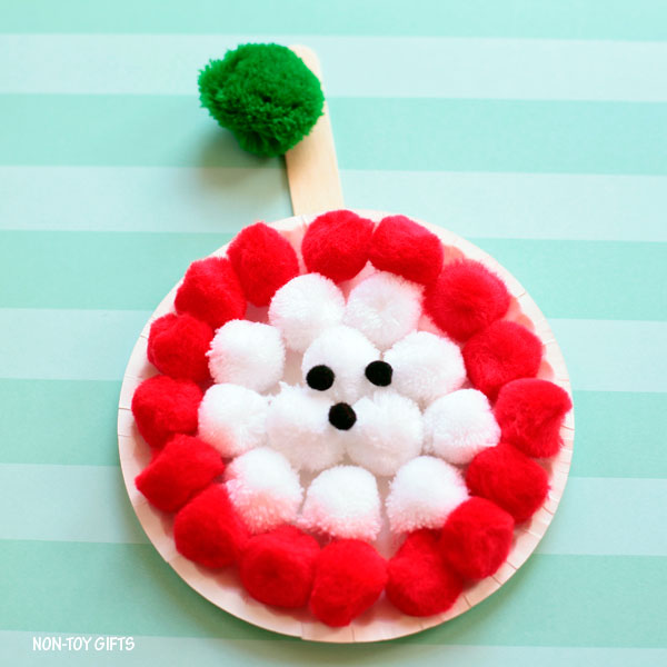 Core apple craft for kids