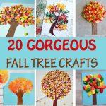 20 Creative fall tree crafts