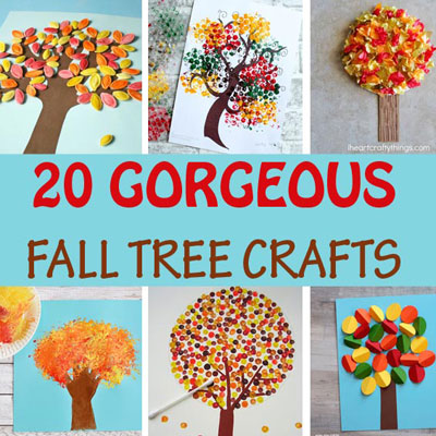 20 Creative fall tree crafts