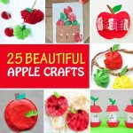 25 Easy and beautiful apple crafts for kids