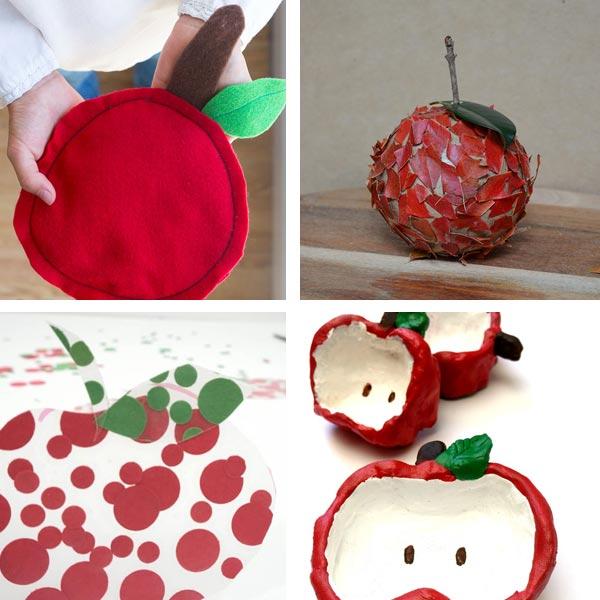 Simple apple crafts