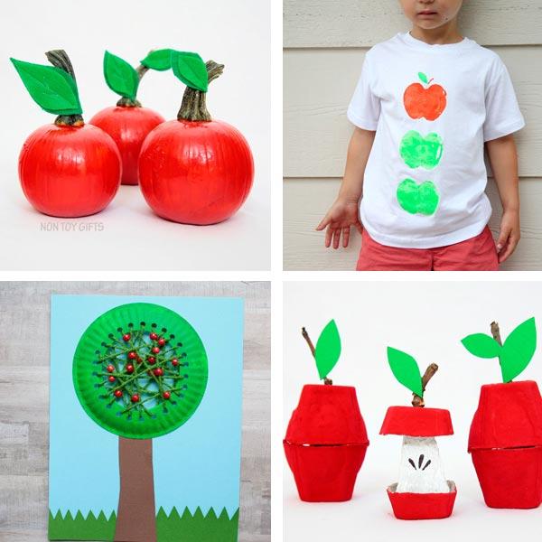 Apple craft kindergarten ideas