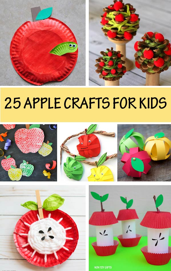 Apple craft ideas for kids