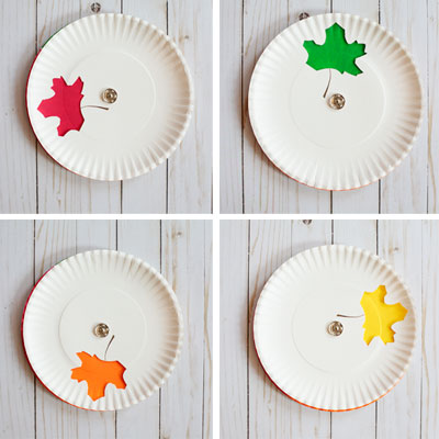 Color changing leaf craft – fall craft