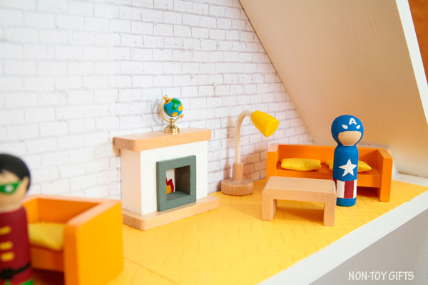 DIY superhero house Captain America
