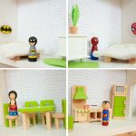 DIY Superhero house – dollhouse for boys
