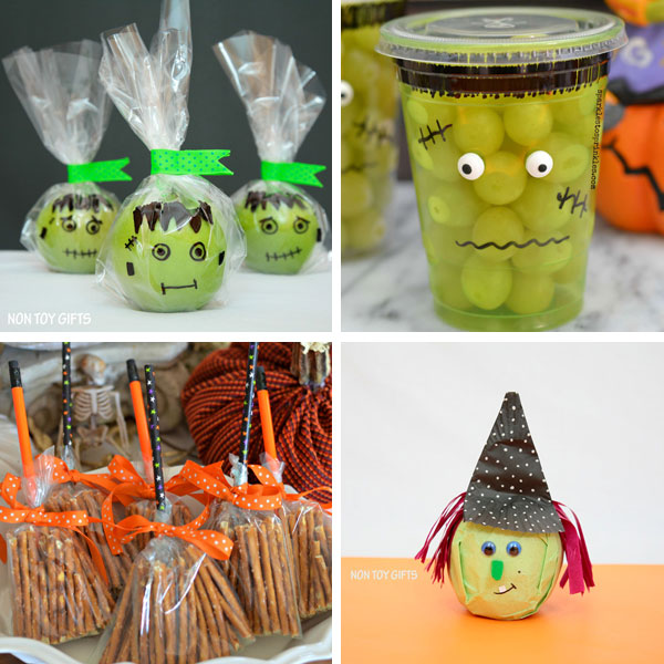 Healthy Halloween treats for school 1