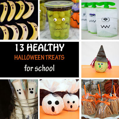 Healthy Halloween treats for school