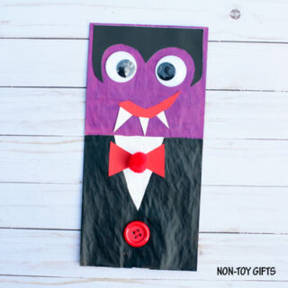 Paper Bag Vampire Craft