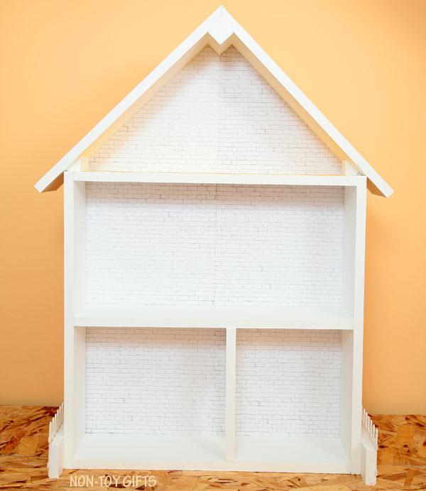how to change a dollhouse to a superhero house