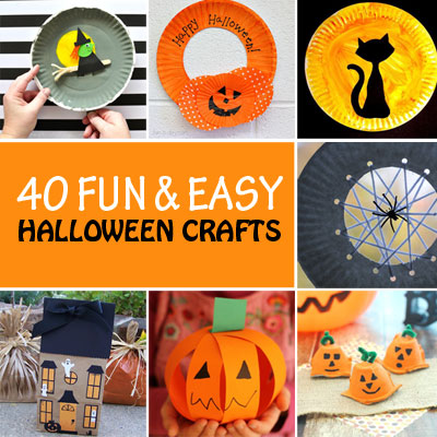 40 Fun and easy Halloween crafts for kids