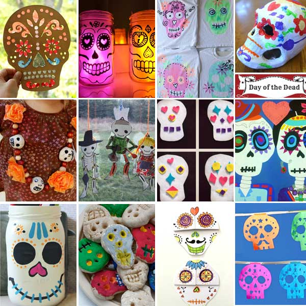Sugar skull crafts for kids