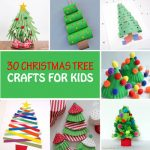 30 Christmas tree crafts for kids