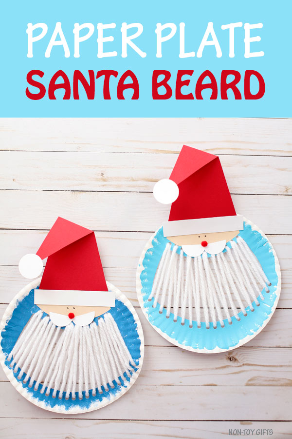 Paper plate Santa beard craft  sc 1 st  Non-Toy Gifts & Paper plate Santa beard craft for kids - Non-Toy Gifts