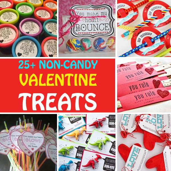 25+ Non-candy Valentine treats for kids