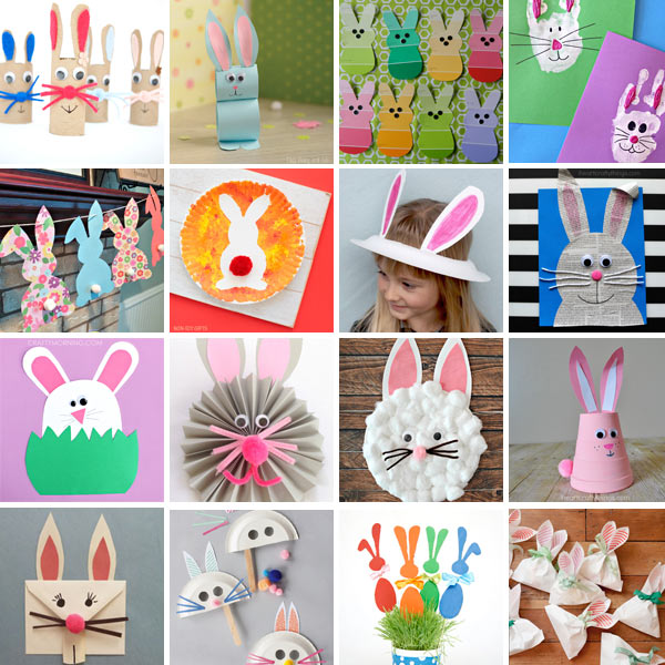 Bunny crafts for kids 1