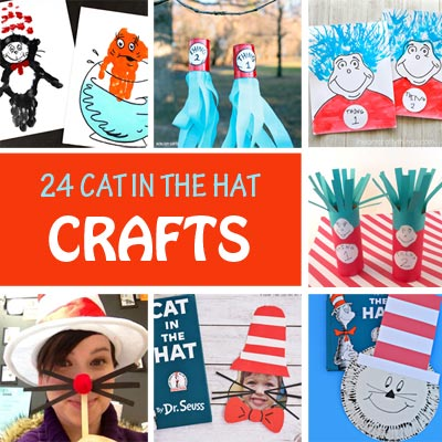 24 Cat in the Hat Crafts to Celebrate Dr Seuss