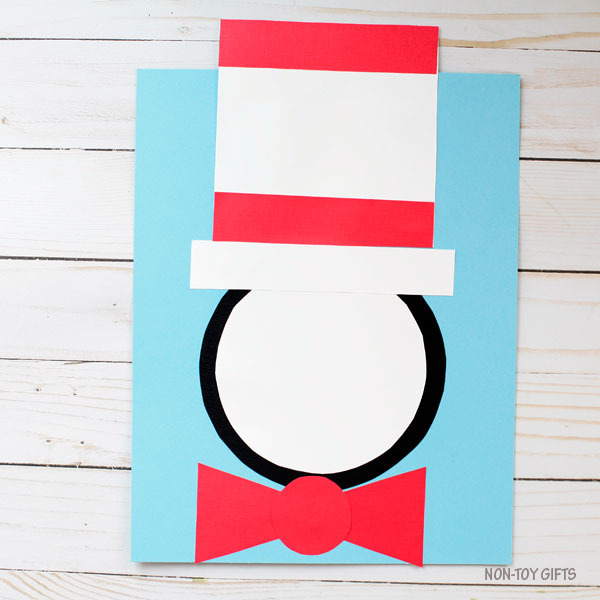 Shape Cat in the Hat craft 3