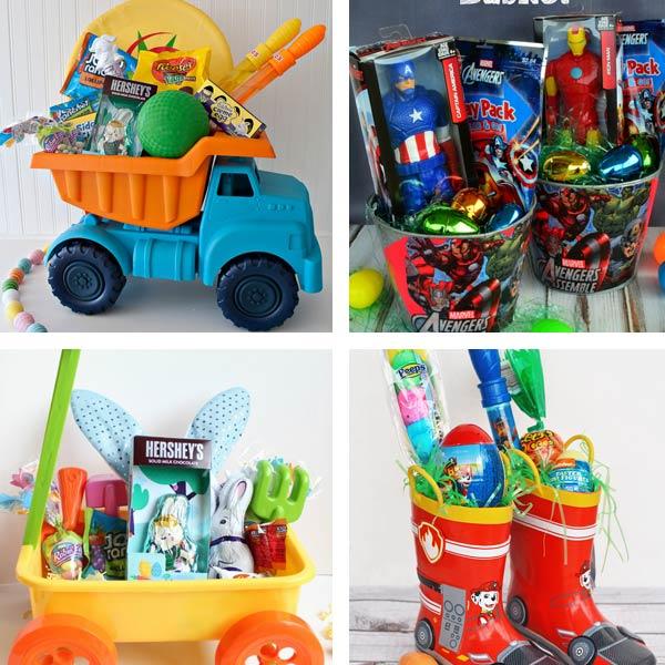 DIY Easter basket ideas for boys 2