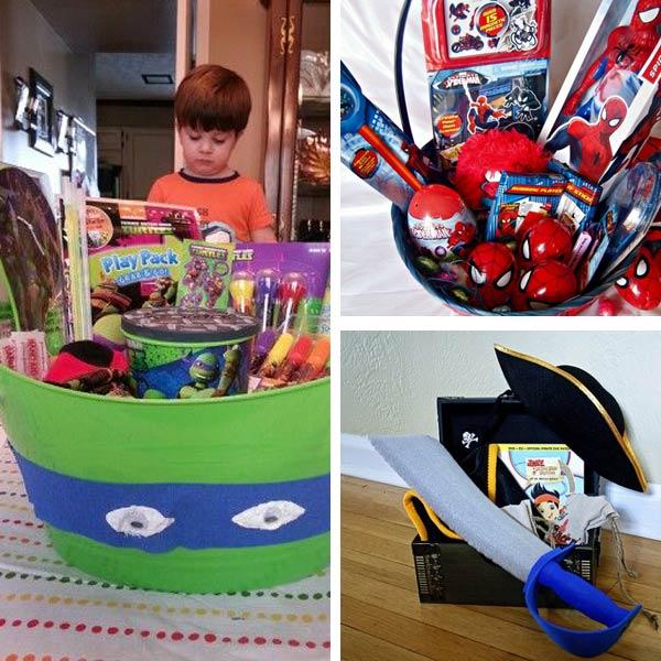 DIY Easter basket ideas for boys 3