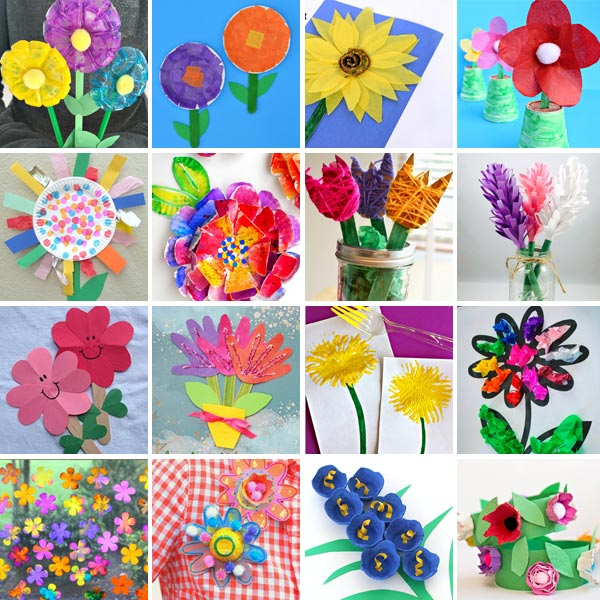 Flower crafts for kids 3
