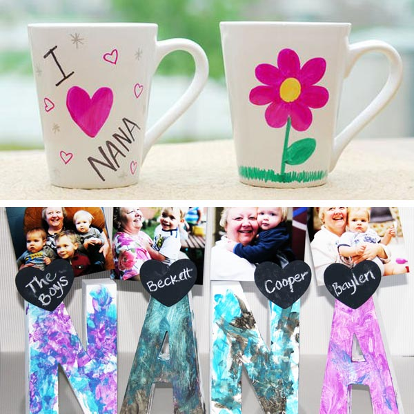 DIY Mother's Day grandma gifts