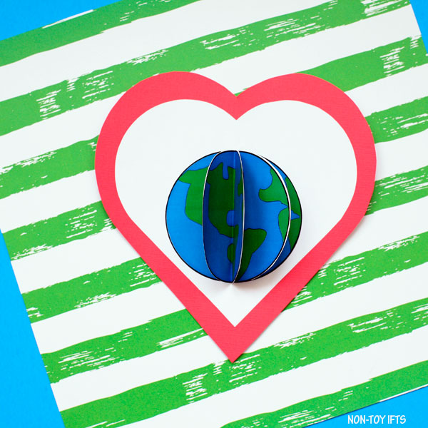 Earth Day craft for kindergartners